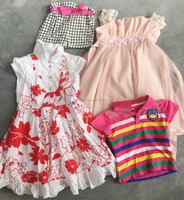 Top qaulity factory supply used summer clothing wholesale A grade second hand Children clothes for hot sale