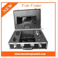 2014 Factory High Quality Fishing Equipment Built in with DVR 60M 7 inch Color Underwater Fish Camera