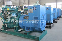 Water cooled AC 3 phase 40kw/50kva with KaMa marine diesel gensets