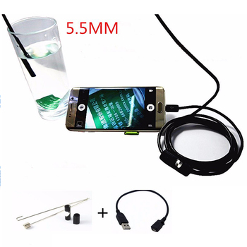 SE-E9 HD 720P 9mm 6 LED Waterproof flexible Camera For Android Phone USB Endoscope