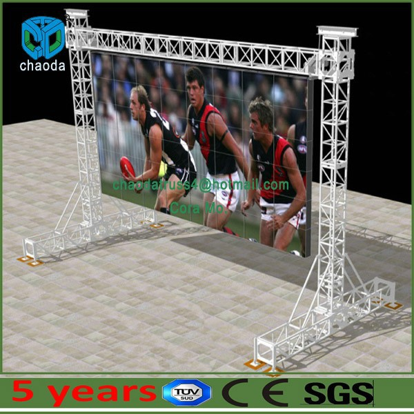 Outdoor and indoor aluminum led truss support with CE, SGS, TUV certificated