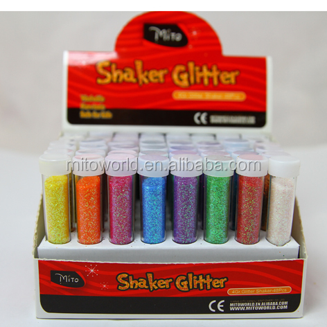 Fashion Glitter Dust Powder Set mixed Coloured Decoration Crafts DIY