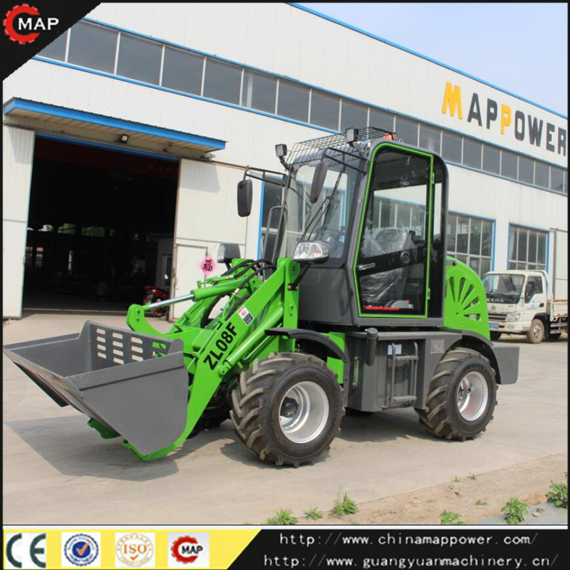 Front End China Mini zl08f wheel loader