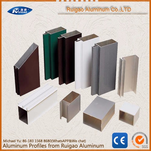 6063 T5 Aluminium profile building materials
