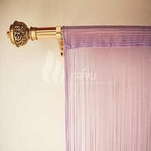The charm of purple Warp Knitting String Curtain