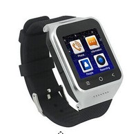 2014 new Dual CPU MTK6572 3G WCDMA Android 4.4 Smart Watch Phone