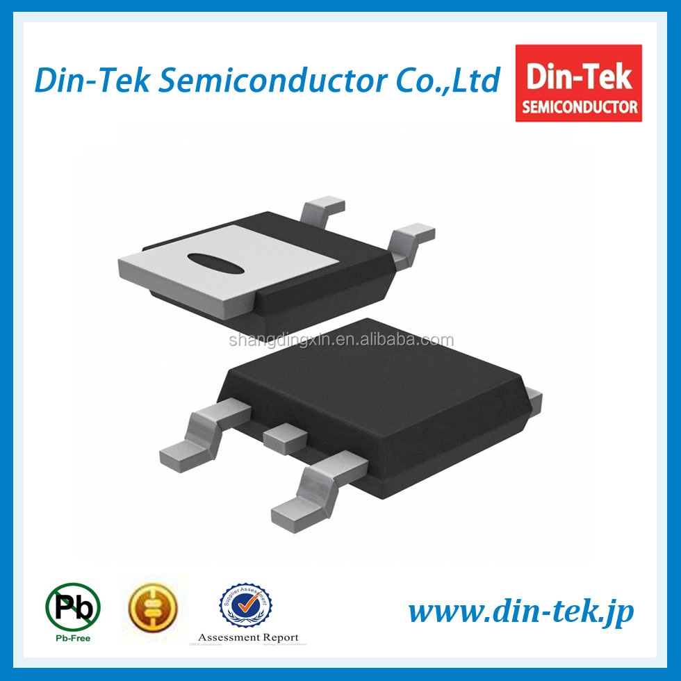 Electronic Components DTU7N65SJ TO-252 7A 650V Power Cool MOSFET Transistor