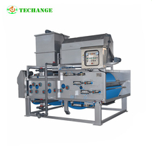 Two stage concentration Seal operation belt press for sale