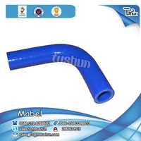 high temperature resist wire reinforced silicone rubber forklift coolant hose