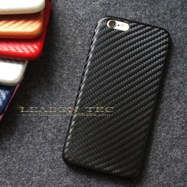New case for iphone 6, for apple iphone 6 leather case, for iphone 6 6s case carbon fiber mobile phone case