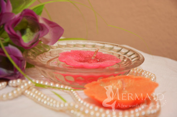 Floater Flower Candles