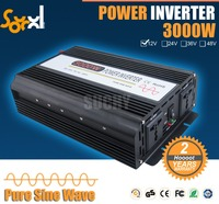 12vdc to 220vac 3000w pure wave power inverter