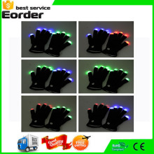 Rave Light Flashing Finger Lighting Glow Mittens LED Glow Gloves