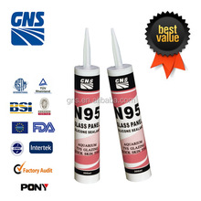 waterproof concrete silicone sealant translucent