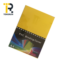 150 Micron Plastic A4 Paper Pvc Blind Transparent Book Cover