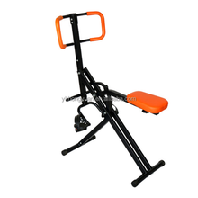 Horse riding exercise machine for total crunch