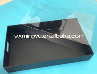 black paperbox for packing shirts;colorful paper boxs for packing clothing;paperbox with plastic cover
