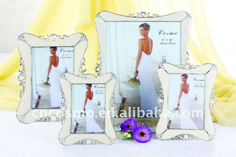 Zinc Alloy, Jeweled Enamel Picture Frames