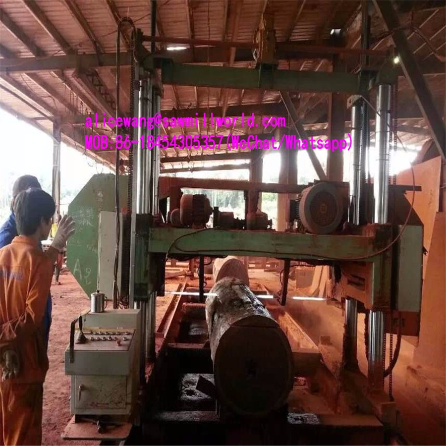Large Horizontal Wood Cutting Band Saw For Sale