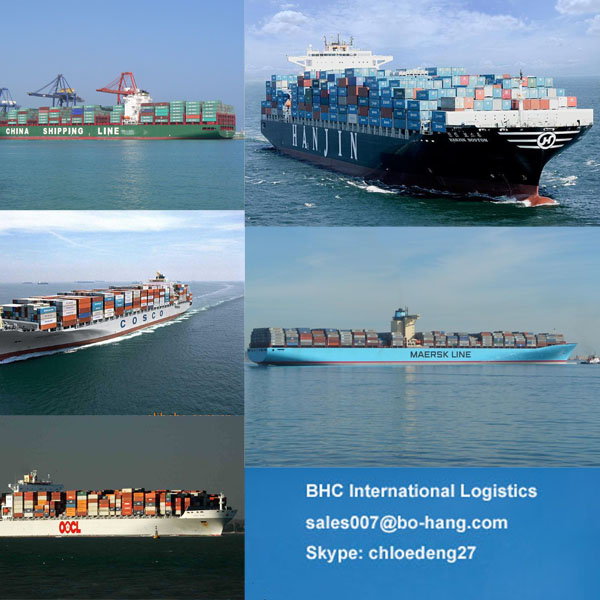 logistics products ship from China to Indonesia by sea - Skype:chloedeng27