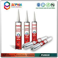 SEPNA PU8630 windshield sealant for auto repair black