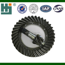 XCMG50 High Quality Chinese Mainland Loader Parts 7:37 Back Spiral Bevel Gear xcmg