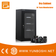 Glass screen drying cabinet for storage camera Lens