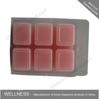 cheap square scented soy wax melts