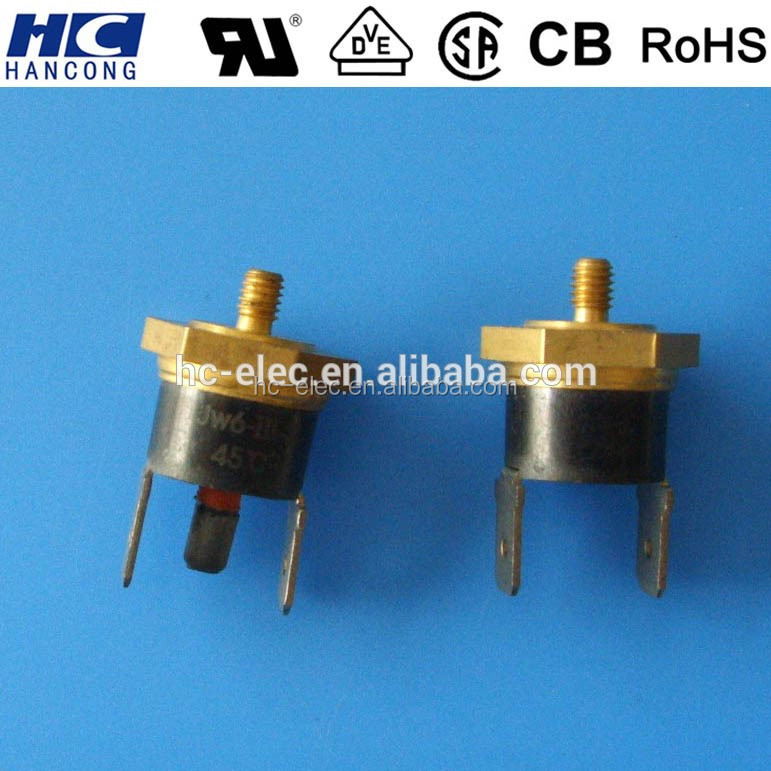 KSD301 thermostat with copper head