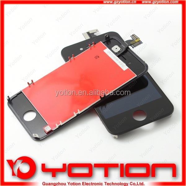 Factory price for iphone 4 housing front digitizer+lcd + back co