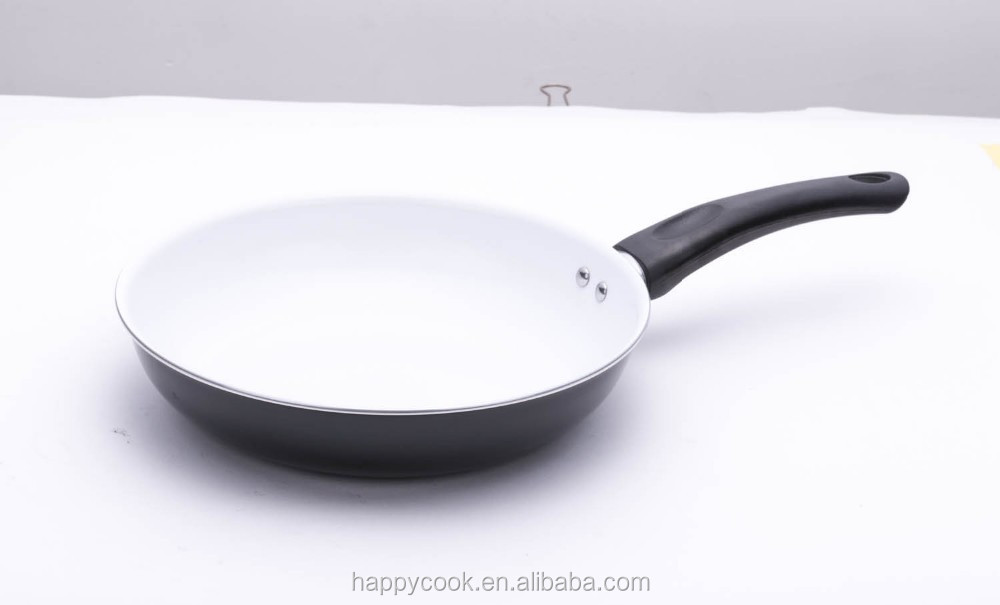 aluminum ceramic coating shallow frying pan