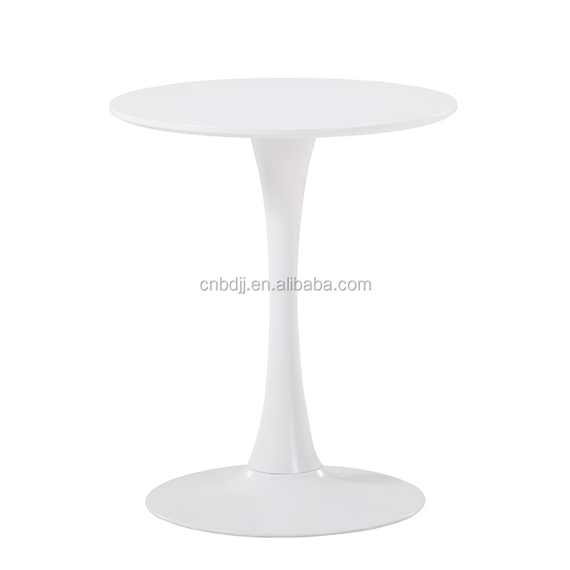 MDF top dining table/dining room table/90cm round table