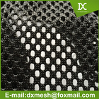 Heavy duty 100%polyester mesh fabric for vest for office chairs for beach chair