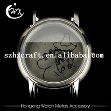 Custom-made watch hands parts stainless steel watches case