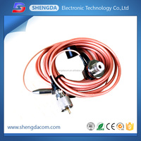 coaxial cable with PL259 to N FEMALE,pigtail cable with connector, antenna cable