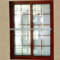 Aluminium safety door aluminium sliding glass door