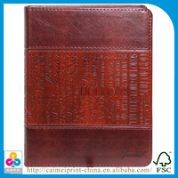 notebook kids embossed cover lock design and printing