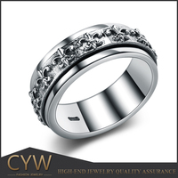 CYW high quality hand made attractive design tai silver rings buy on line now jewellry