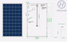 Best price of polysilicon 250w poly solar panel with best quality and low