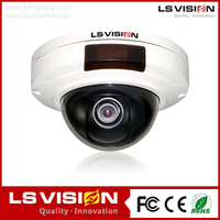 LS VISION fixed lens mini ir wire dome camera onvif2.4