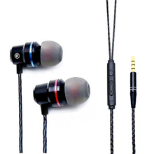 Hot Sell Cheap Headphone In Ear Sport Earbuds Super Bass Noiseproof Earphone With 4D Stereo Sound