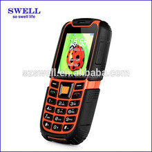 SWELL mobile phone with walkie talkie S6 with IPS sos button elderly cell phone