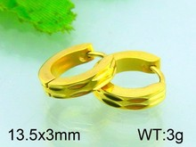 Hot selling round earring designs bali jewelry earring gold plate earring