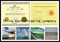 Ocean shipping logistics/Best vessles/From Qingdao to America