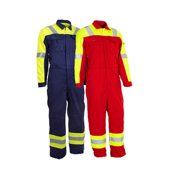 OEM Workwear Safety Uniform Shirts/flame Retardant Coverall