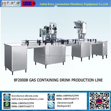 BF2000B Automatic Soda Drinks / Gas Water Production Line / Plant