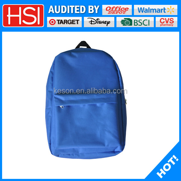 walmart target officedepot audited school backpack bag teenage china supplier