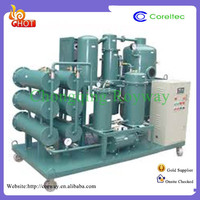 China Vacuum Lubricant Oil Purifier Unit