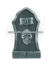 ceramic halloween tombstone