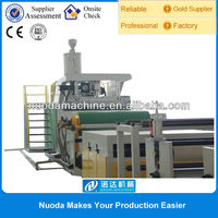 plastic film extrusion PE film coating laminating machine